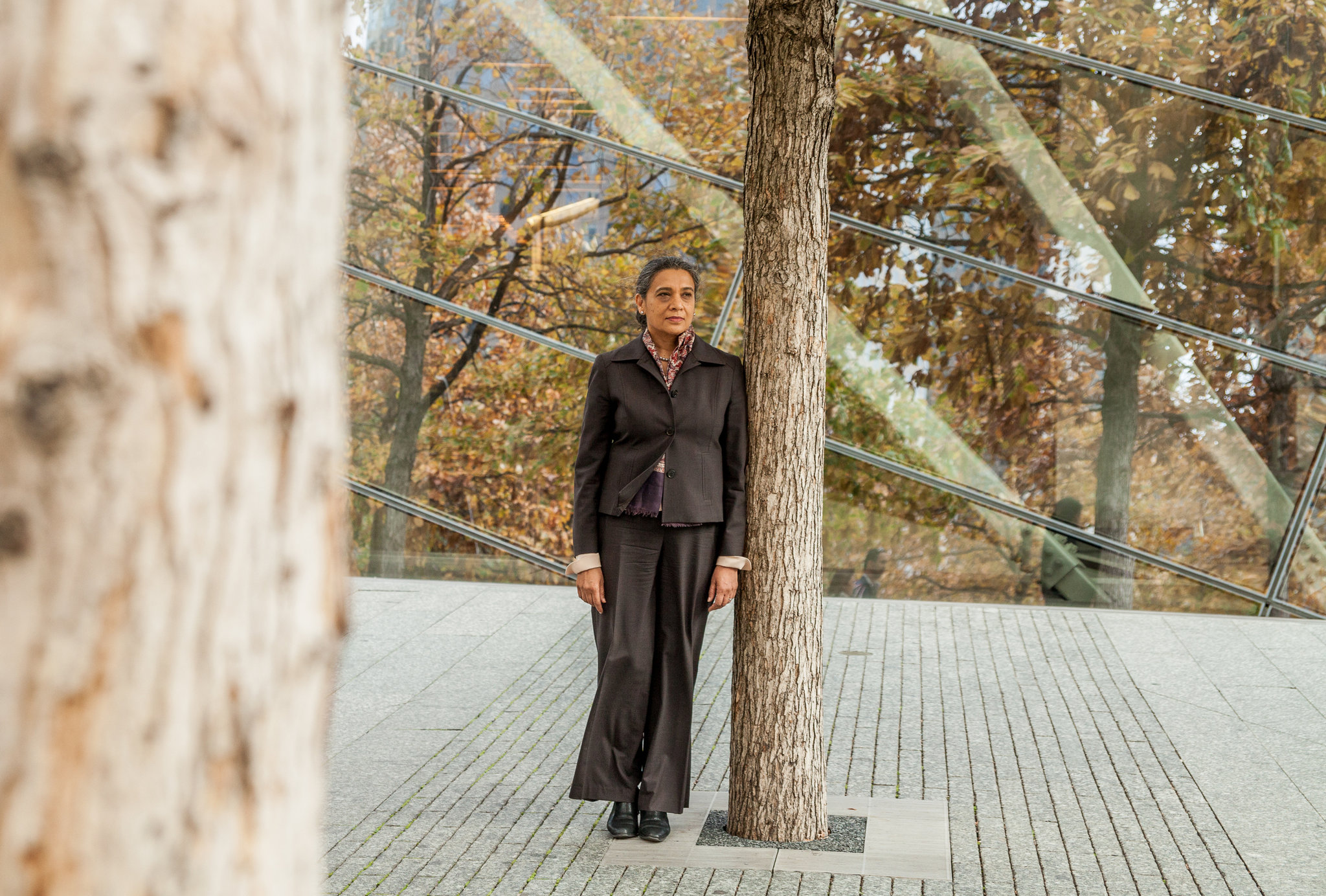 K. Sujata, president and chief executive of the Chicago Foundation for Women, oversaw a merger in 2012, when her nonprofit group took over the Eleanor Foundation. Credit George Etheredge for The New York Times